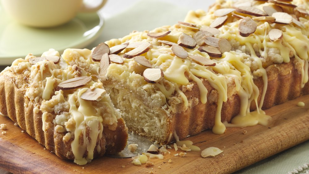 Coffee and almond cake