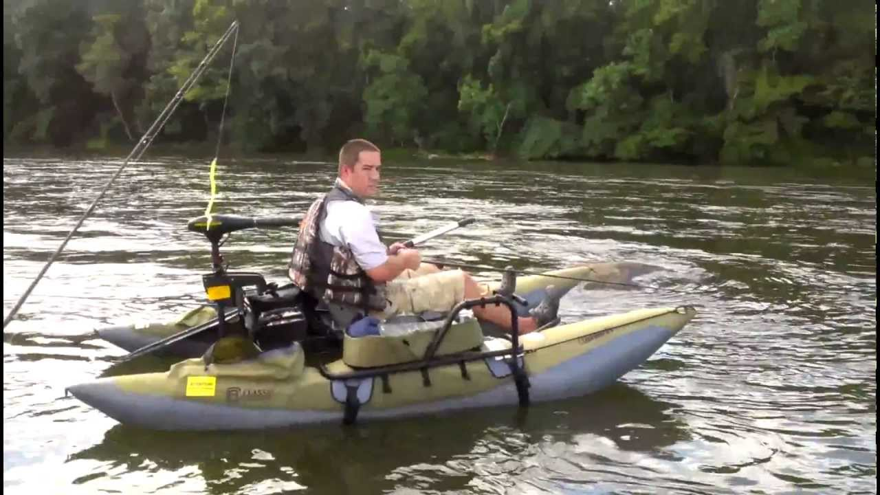Inflatable pontoon accessories bing images for Fly fishing boats