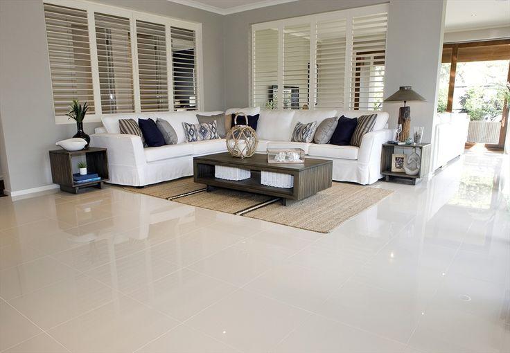 Porcelain tile flooring pets blog publisher - White flooring ideas for living room ...