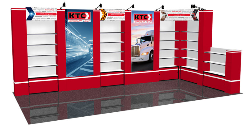 Custom Displays Available For Trade Show Events