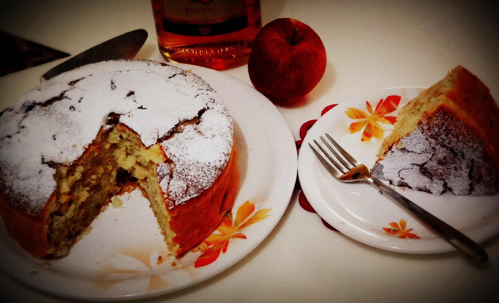 Rum N Raisin cake