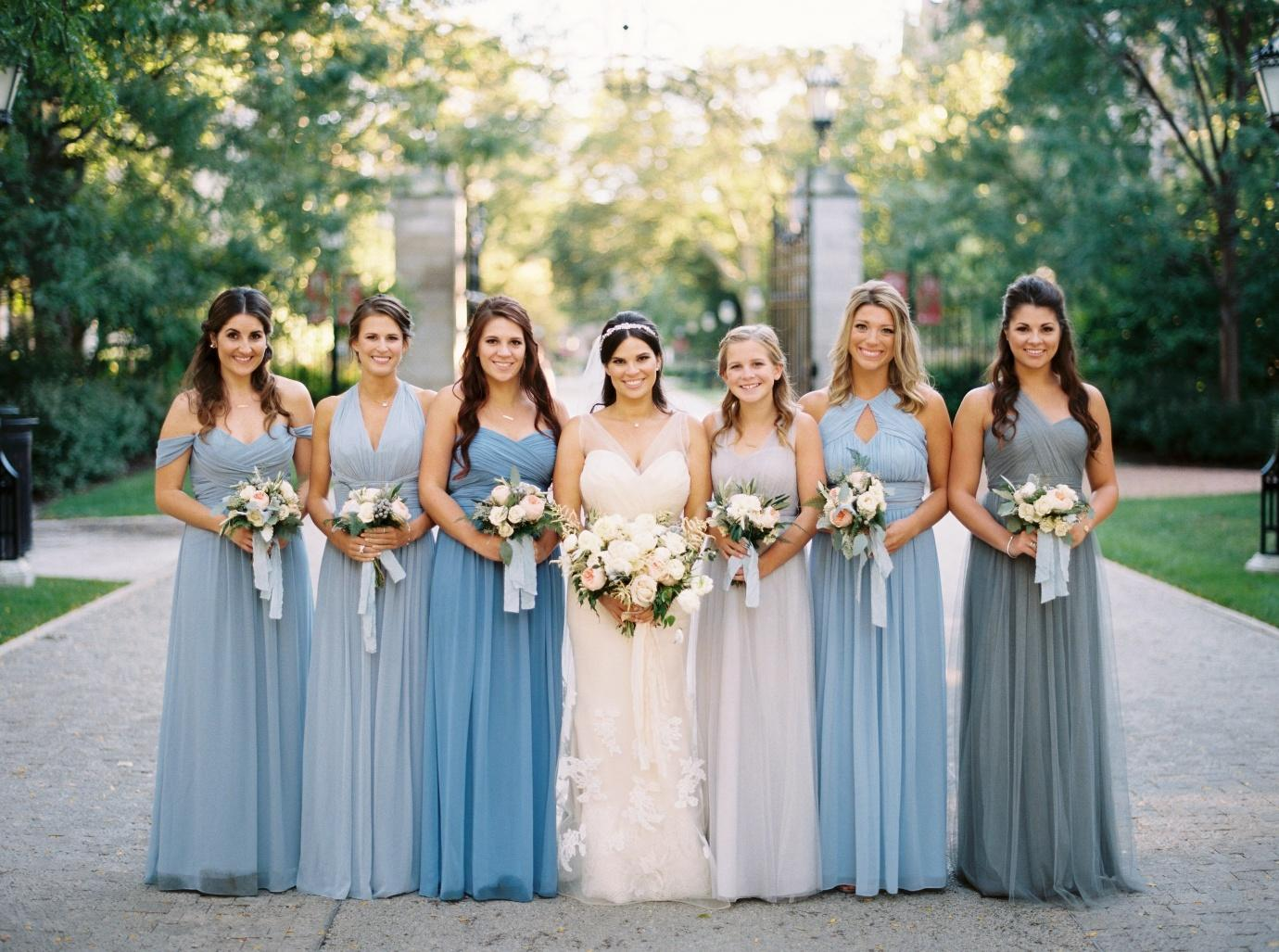 Opt For Bridesmaid Dresses To Show Your Unique Style