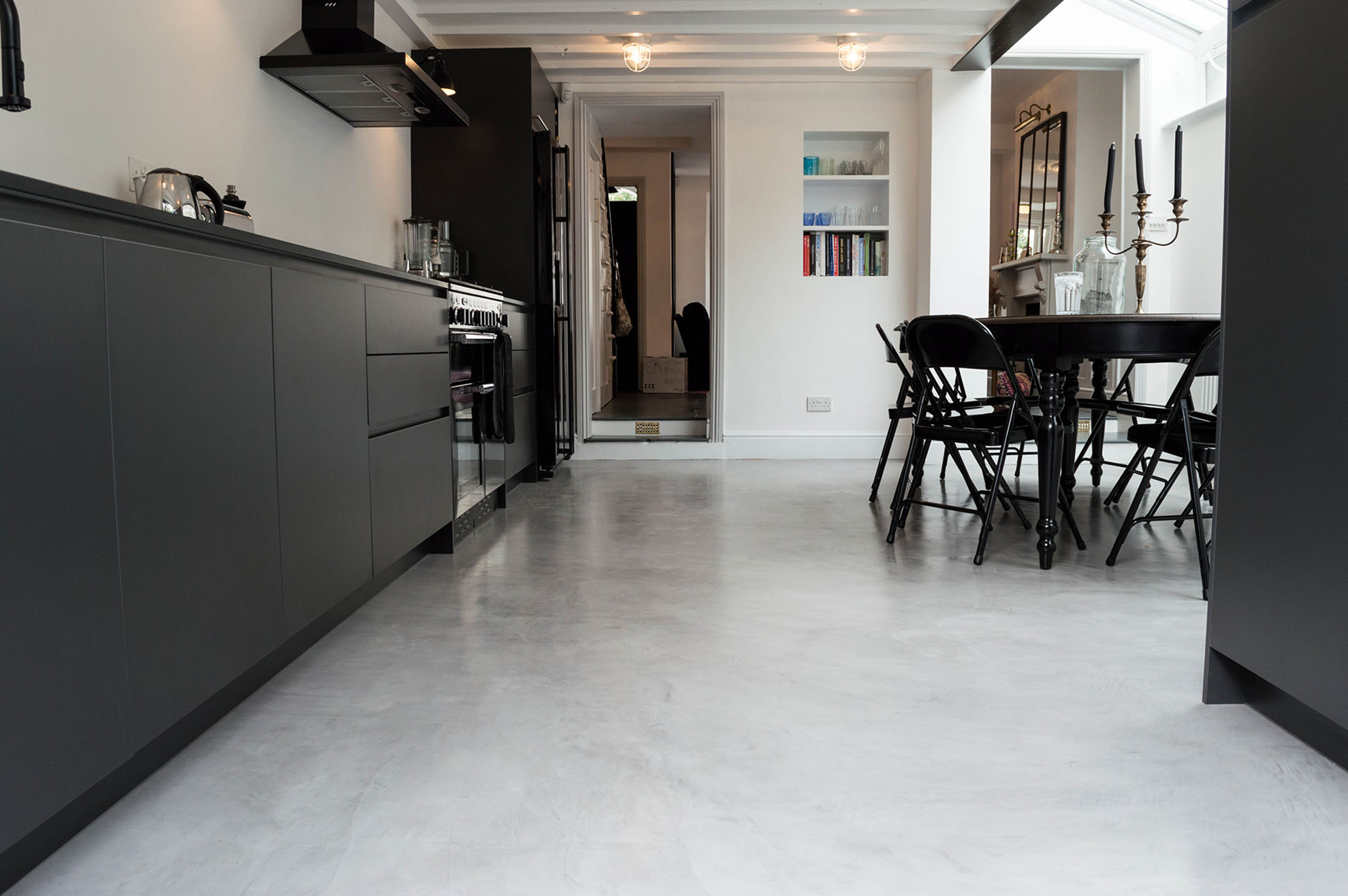 Micro Cement Redefining The Floor With Finish And D 233 Cor